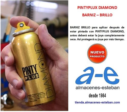 PINTYPLUX DIAMOND Barniz Brillo