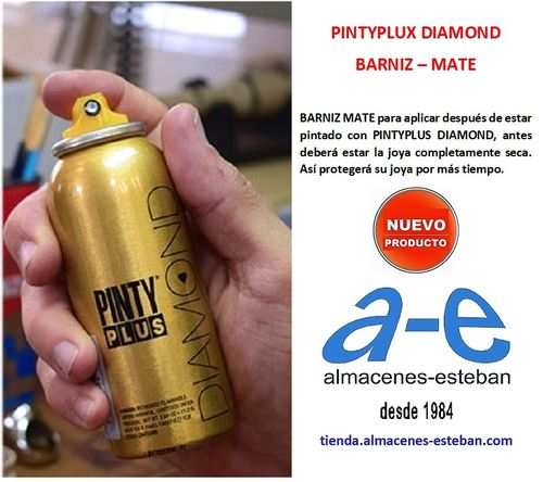 PINTYPLUX DIAMOND Barniz Mate