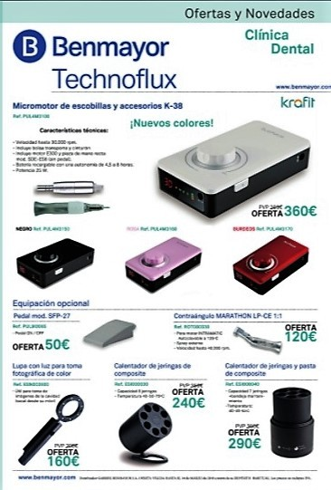 OFERTAS CLINICA DENTAL TECHNOFLUX TECHNODENTAL_tienda.almacenes-esteban.com